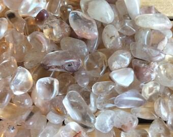 Lithium Quartz Small Tumbled Stone,Spiritual Stone, Healing Stone, Healing Crystal, Chakra