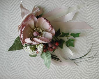 Floral decoration, artificial flowers, gift for her