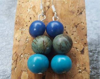 Acai seed earrings
