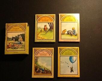 Pooh Bear mini books