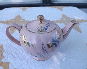 Vintage Pink Signed James Sadler Teapot/Teapot/Home and Living/Home Decor/Dining and Serving/Tea Maker/Sadler/Teapot/England/Collectible