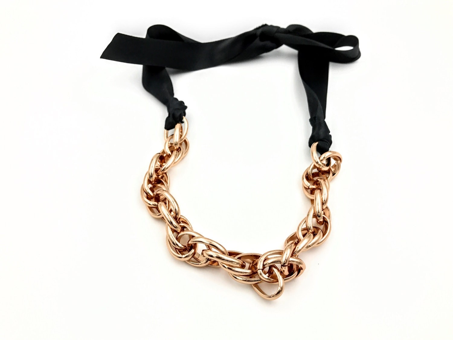 com buy beaded with ribbon kids satin alibaba detail pearl on bow product simple necklace