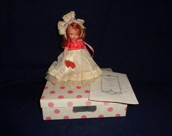 Nancy Ann Bisque Storybook Doll #157 Queen of Hearts #3