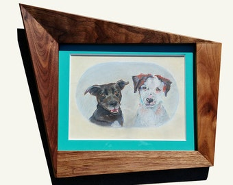 carlo of hollywood style frame custom mid century modern picture frames
