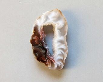 1pcs Natural Druzy Agate Geode Slices C4648