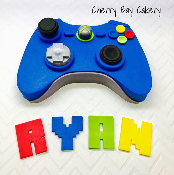 Video Game Cake Decorations Video Game Birthday Fondant