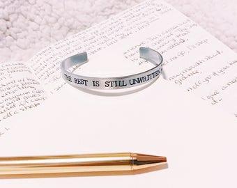 Unwritten Bracelet Cuff