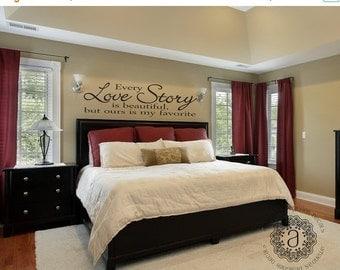 Items Similar To Master Bedroom Decor Love Quote Bedroom Decor Bedroom Wall Art Bedroom Wall