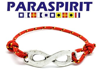 Paraspirit Adjustable Infinity Nautical Rope Bracelet