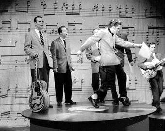 Elvis Presley ,  Elvis  January 6 , 1957 , Ed Sullivan rehearsals.# 2