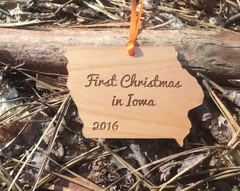 Iowa State Ornament