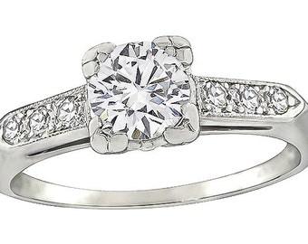 Vintage 0.50ct Diamond Engagement Ring
