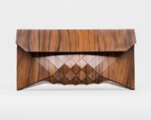 Wood case, Men's iPad case, Men's wood bag, Men's tablet case, hand held case, wood bag, wood accessory, geometric wood bag, document holder