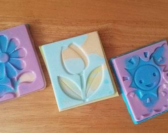Soap - Soap Party Favors - Easter Basket Gifts - Easter Soap - Ladybug Soap - Butterfly Soap - Kids Soap - Bar Soap - Soap Bars - Easter