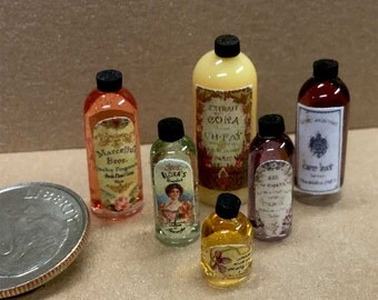 Perfume bottles set 2