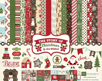 Echo Park The Story of Christmas Collection Kit