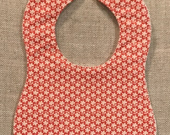 Baby Bib in Fig and Tree Co's Strawberry Fields