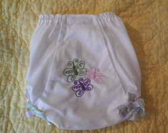 Butterfly Baby Bloomer / Diaper Cover
