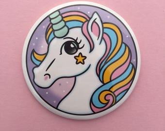 Magical Unicorn Pocket Mirror
