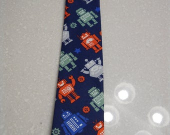 Children's Robot Necktie
