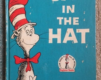 The Cat in the Hat by Dr. Seuss 1957 Vintage Children's Book