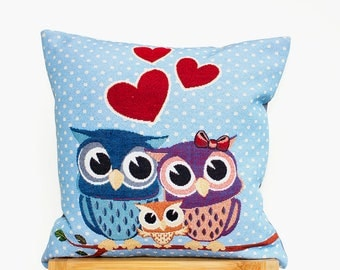 Cushion Cover, Decorative Pillow, Woven, Luxury, Cushion Cover (16x16in - 40x40cm) for Home Decor