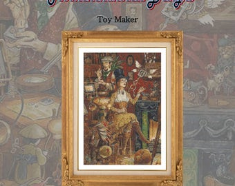 Toy Maker PDF chart pack only for 16 count