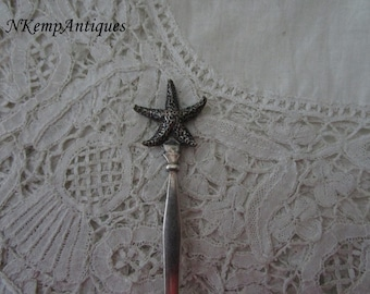Old starfish spoon
