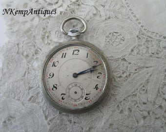 Art deco pocket watch 1920's restoration project
