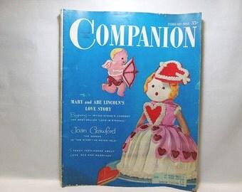 Woman's Home Companion Magazine, 1955 February Issue