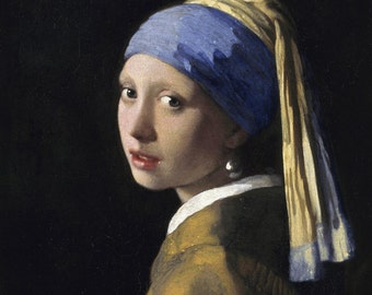 Johannes Vermeer, The Girl with the Pearl Earring, 1632