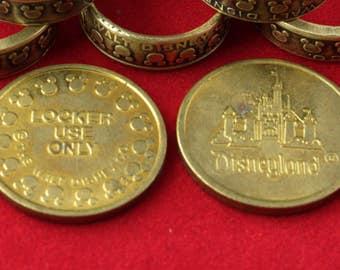 Mickey Mouse Disney Brass Token