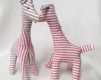 Baby toy organic giraffe