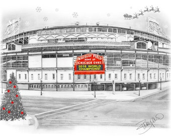 Chicago Cubs World Series Christmas Cards