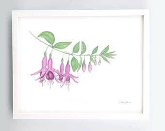 Fuchsia Printable Art
