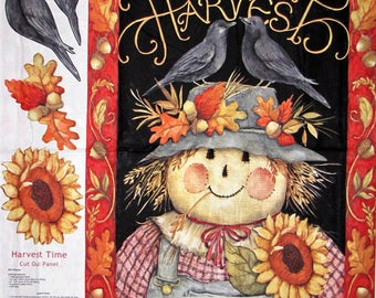 Harvest Time  Craft Panel, Quilt or Wall Hanging #469
