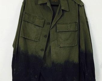 Vintage Military Surplus Army Jacket