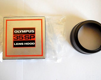 Olympus Plastic Original Lens Hood 49mm for Olympus 35 SP - BOXED
