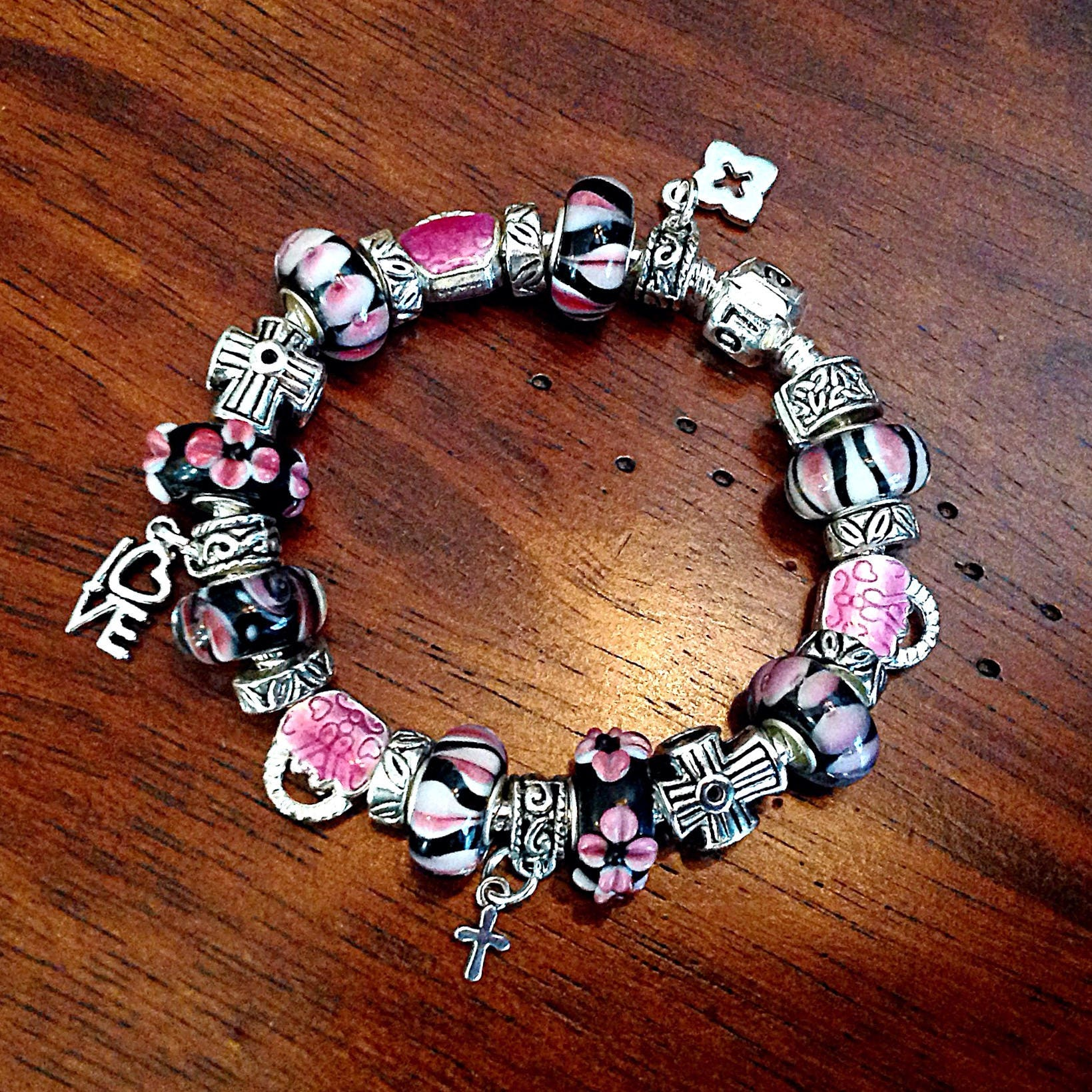 fundraiser bracelet give lymphoma il support up fullxfull leukemia products awareness cancer never blood and society