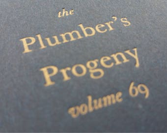 Plumber - Small Funny Notebooks, Mini Journals, Jotters, Cahiers