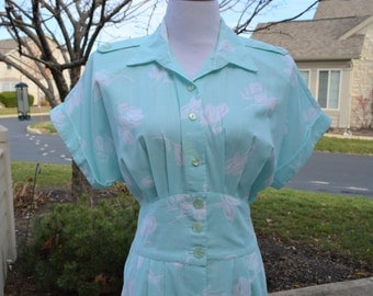 Stuart Alan Light Blue Ladies Long Summer Dress