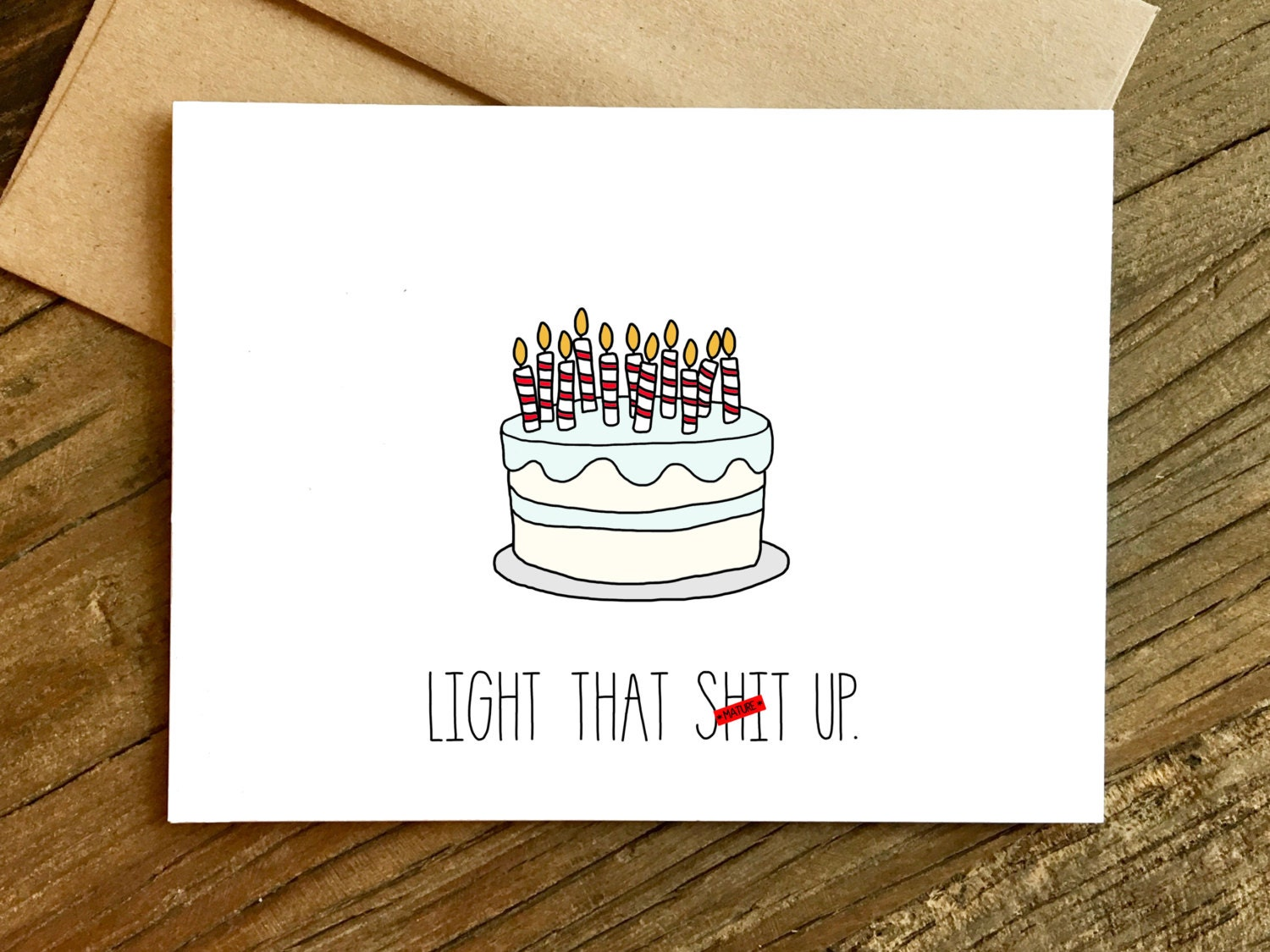 Funny Birthday Card 21st