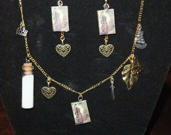 Princess Bride Book Necklace - Great Gift for Book Lovers!
