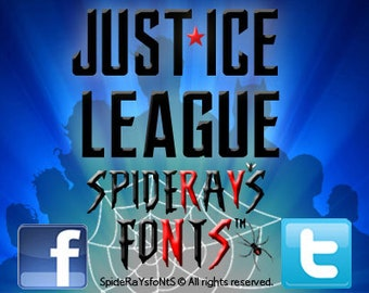 JUST*ICE LEAGUE Commercial Font