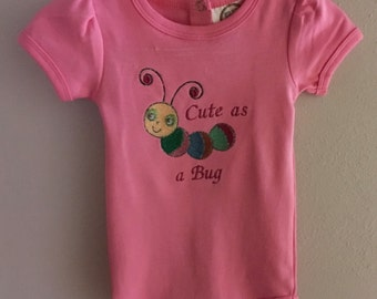 Cute as a Bug Onesie