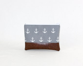 MIDI bag - gray anchor