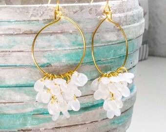 Water drop earrings - unique