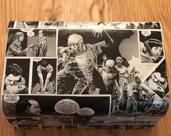 The Walking Dead comic box