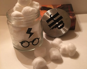Harry Potter Themed Jar for candy and household items