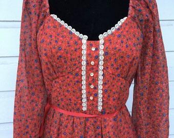 Beautiful princess Candi Jones dress. Vintage 13.